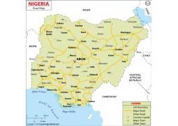 Nigeria Road Map - Digital File