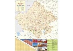Rajasthan Large Map