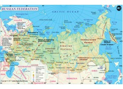 Large Russia Map