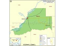 Mason County Map - Digital File