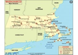 Massachusetts Major Attractions - Digital File