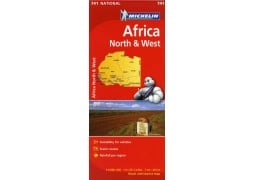 AFRICA NORTH & WEST 741 4 ED