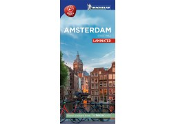 AMSTERDAM CITY MAP LAMINATED