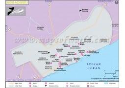 Mogadishu Map - Digital File