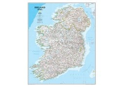 National Geographic 'My Ireland' Personalized Map (Classic)