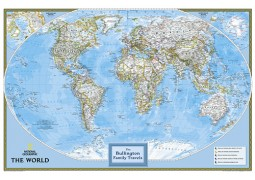 National Geographic 'My World' Personalized Map (Classic)