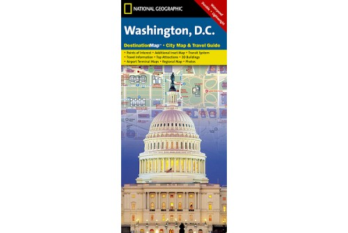 Washington D.C. City Map and Travel Guide