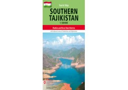 South Tajikistan Tourist map