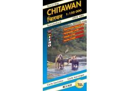 (Nepal) Chitawan touristmap (Karto)