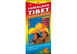 Himalaya/Tibet road map