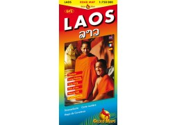 Laos travel map (Gecko)