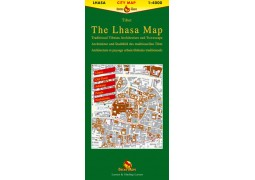 (Tibet) Lhasa city map (Gecko)