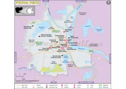 Phnom Penh Map - Digital File