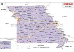 Missouri Road Map