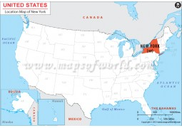 New York Location  Map