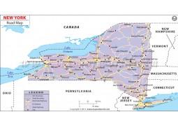 New York Road Map