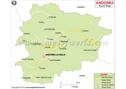Andorra Road Map