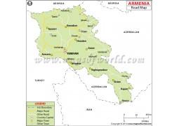Armenia Road Map