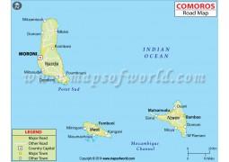 Comoros Road Map