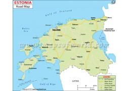 Estonia Road Map
