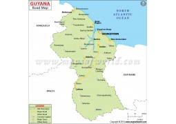 Guyana Road Map