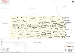 Kansas Cities Map