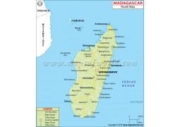 Madagascar Road Map