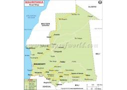 Mauritania Road Map