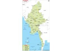 Myanmar Road Map