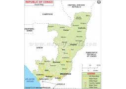 Republic of Congo Road Map