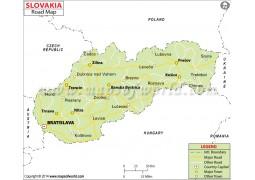 Slovakia Road Map