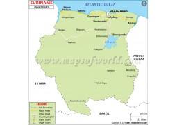 Suriname Road Map