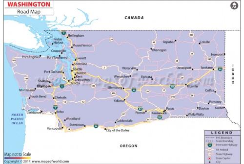 Washington Road Map