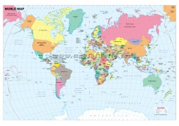 World Map With Country Capital