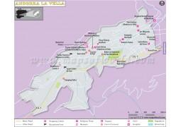 Andorra La Vella City Map