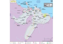 Apia City Map