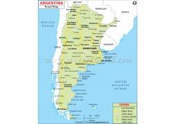 Argentina Road Map