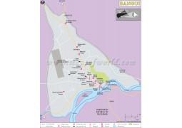 Bangui Map