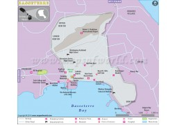 Basseterre City Map