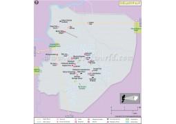 Belmopan City Map