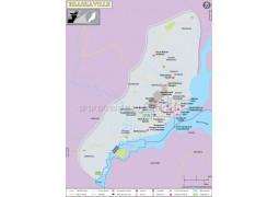 Brazzaville City Map