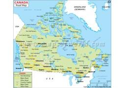 Canada Road Map
