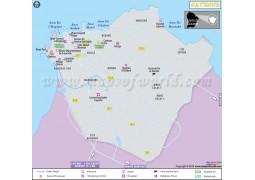 Cayenne Map