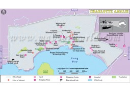 Charlotte Amalie City Map