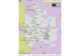 Colorado Springs City Map