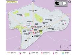 Dodoma City Map