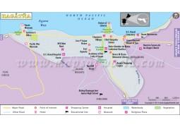 Hagatna City Map