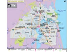 Jacksonville City Map