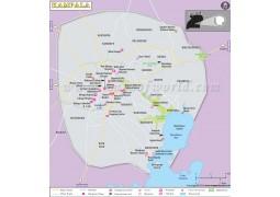 Kampala City Map