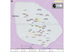 Mbabane City Map